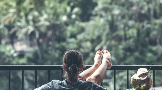 Sommerwohnzimmer Balkon 2020